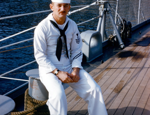 A moving story from the daughter of Daniel T. Mochen USS Salem sailor