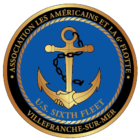 US 6th fleet – Villefranche Logo